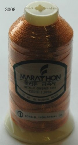 Marathon Rayon Embroidery Machine Thread Metallic - 3008